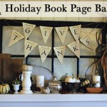 How to make a Holiday Book Page Banner