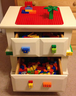Lego Table Homemade Christmas Gifts The Happy Housewife
