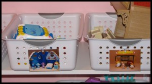 How to Organize Toys with Picture Labels