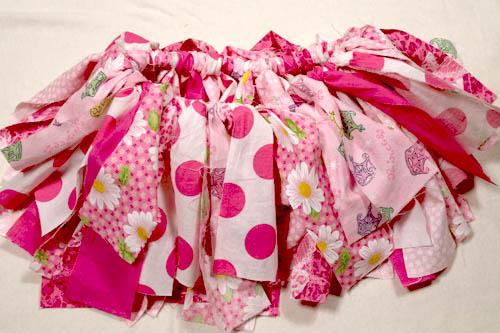 Scrap Fabric Tutu 10