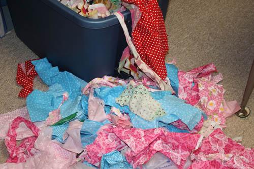 Scrap Fabric Tutu 2