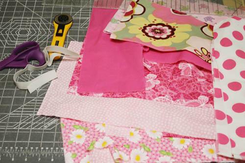 Scrap Fabric Tutu 4