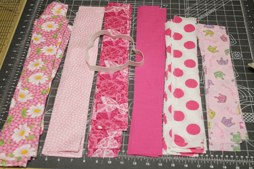 Scrap Fabric Tutu 7