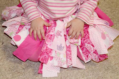 Scrap Fabric Tutu 9