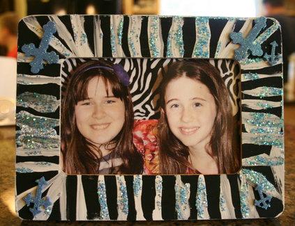 Zebra frame party