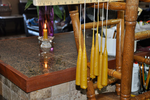 Beeswax Candles @ponderthepath