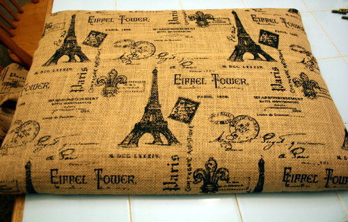 French Ottoman Makeover