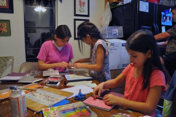 Handmade Journals - Girls