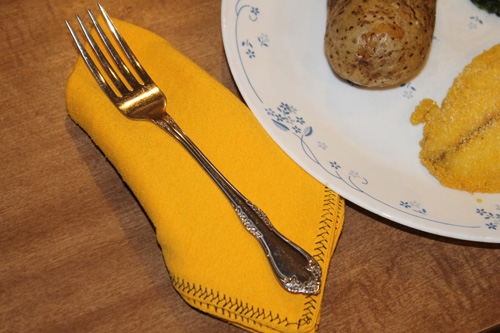 16 DIY Upcycled T-Shirt Projects (Napkin)  The Happy Housewife