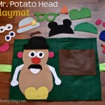 Mr. Potato Head Felt Mat