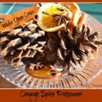 Orange Spice Potpourri: Homemade Christmas Gifts | The Happy Housewife