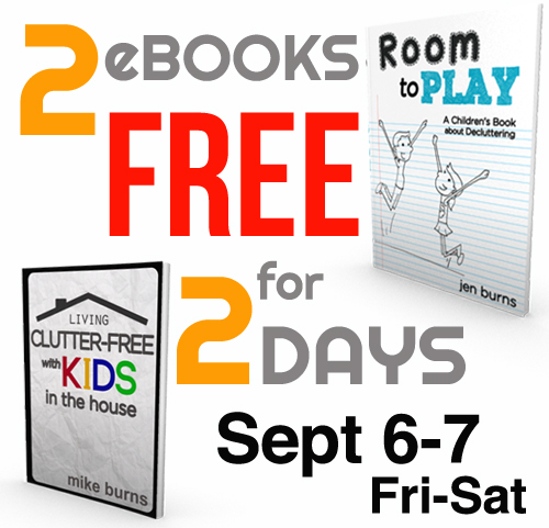 room to play and living clutter free with kids free ebooks