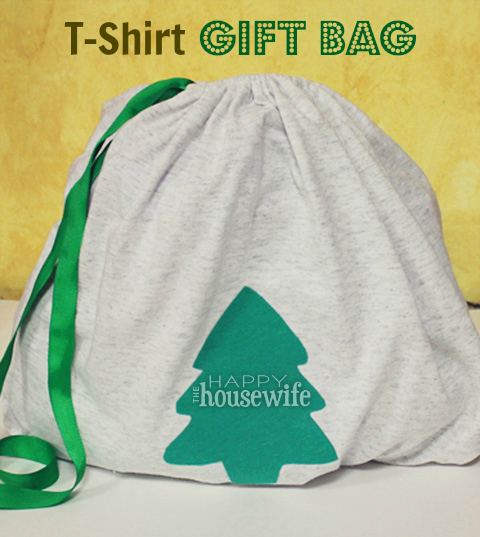 T-Shirt Gift Bag | The Happy Housewife
