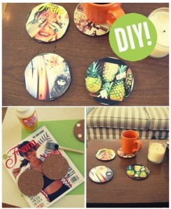 Photo Coasters: Homemade Christmas Gifts - The Happy ...