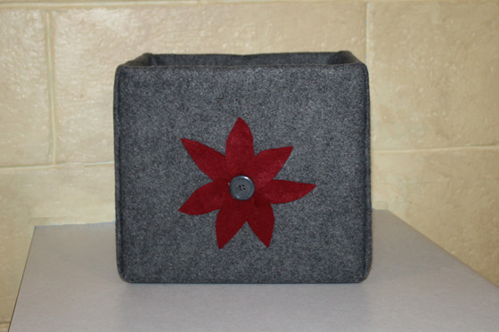 Felt Covered Box 8
