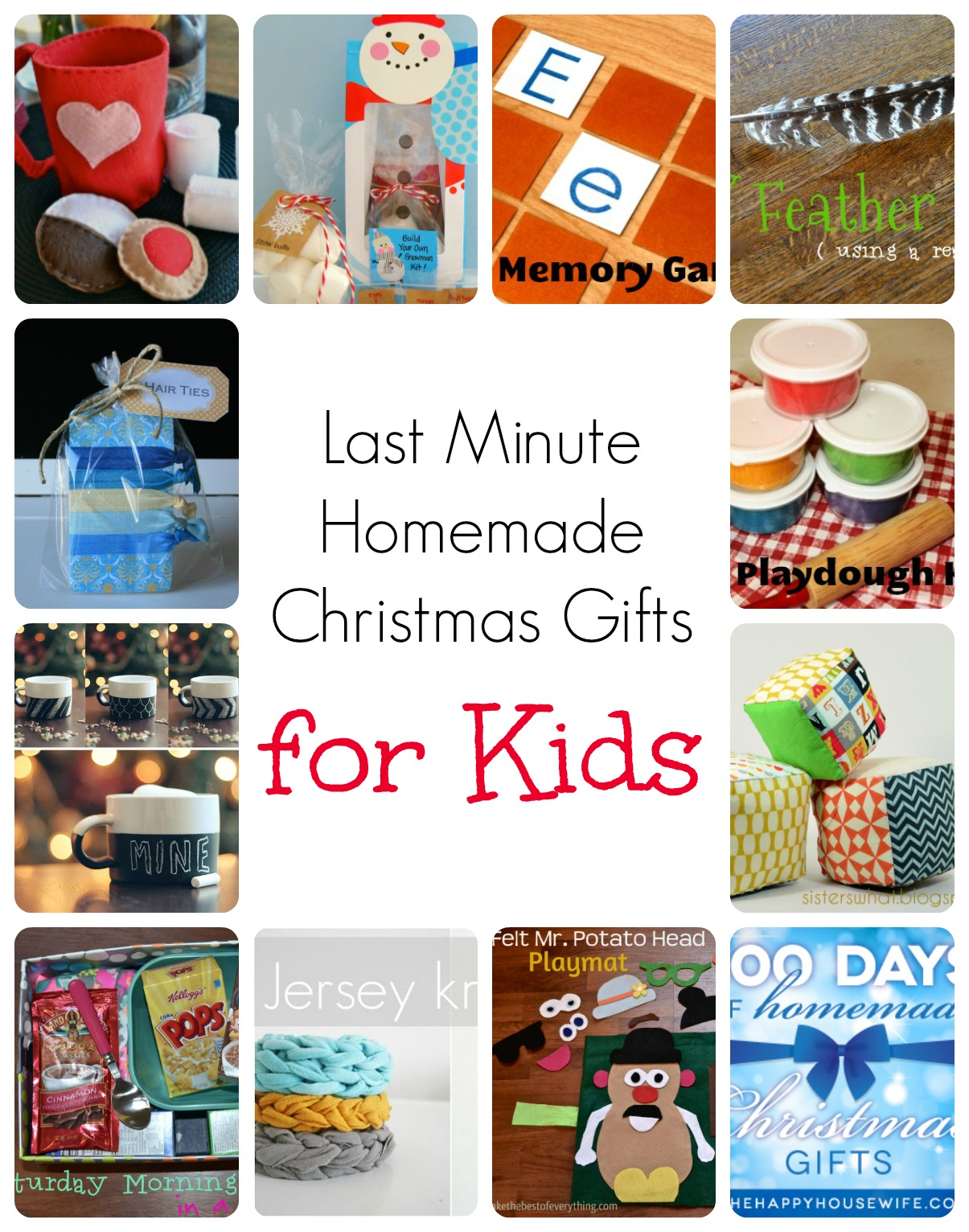 Homemade Christmas Gifts For Kid 15 Homemade Christmas