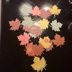 How to Make a Thankful Tree (step 3) at The Happy Housewife