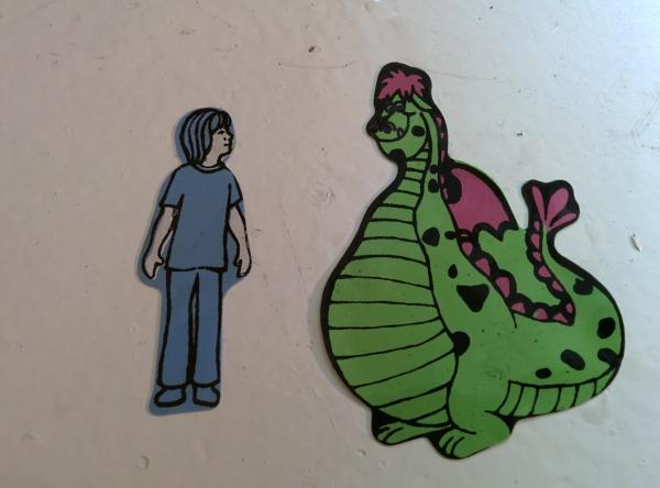 Petes Dragon pieces