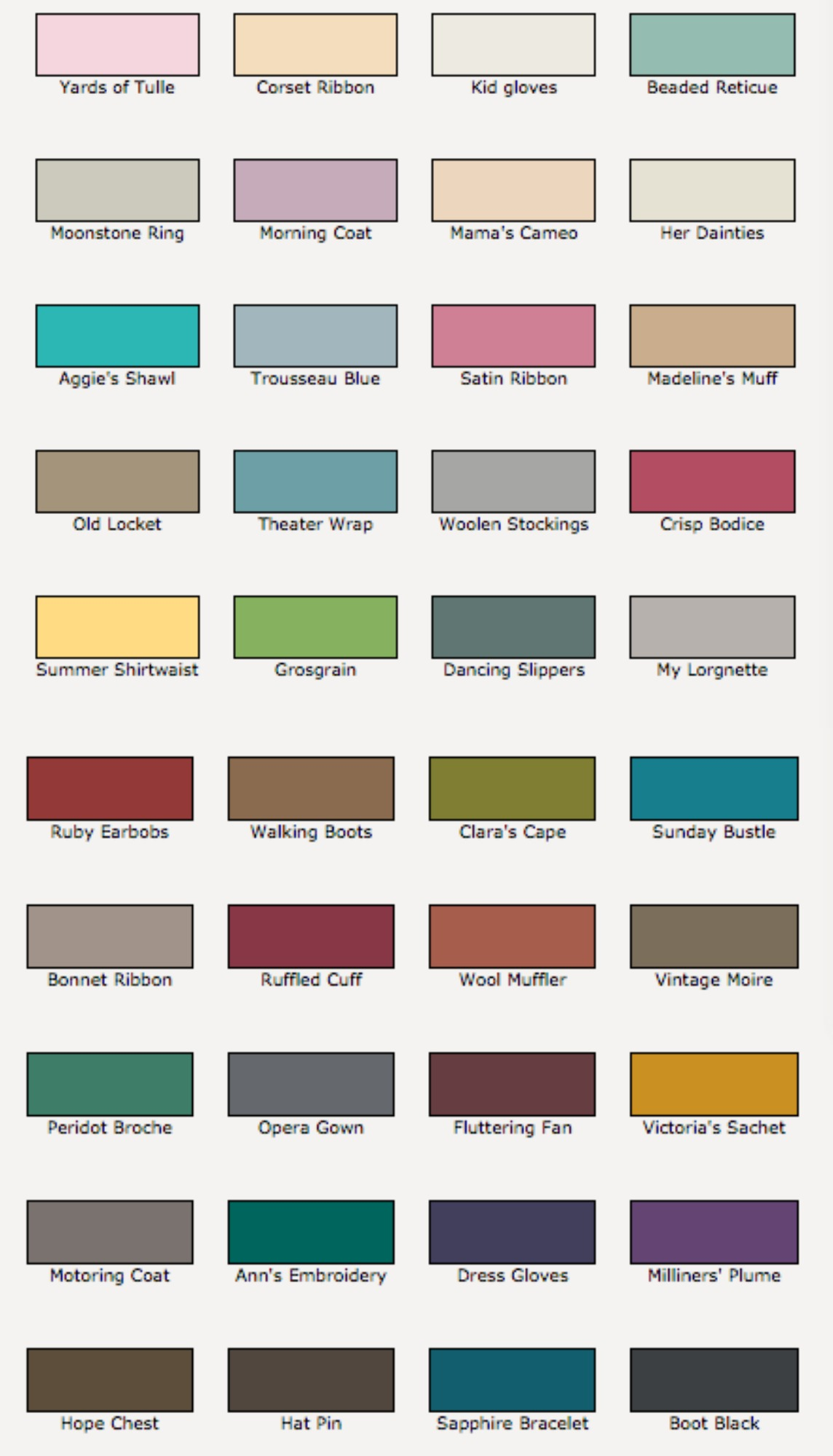 Valspar Chalky Finish Paint Colors