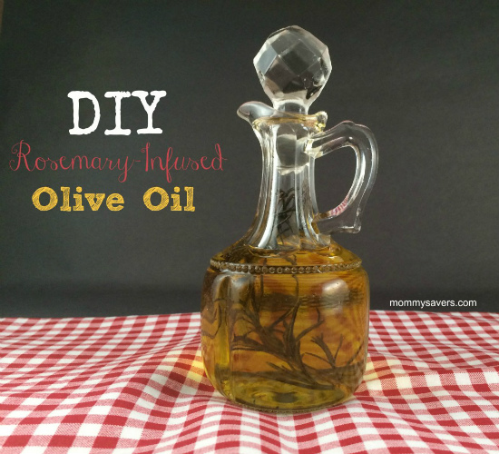 Rosemary Infused Olive Oil: Homemade Christmas Gifts - The ...