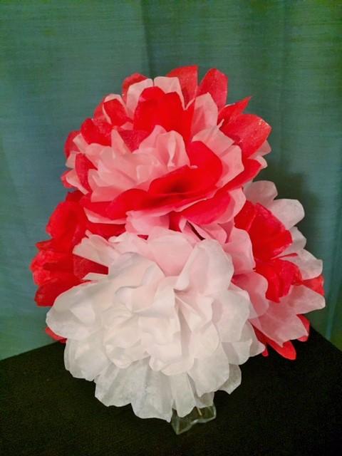 Coffee Filter Valentine's Day Bouquet
