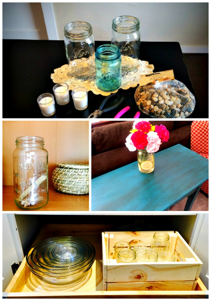 ideas for reusing mason jars
