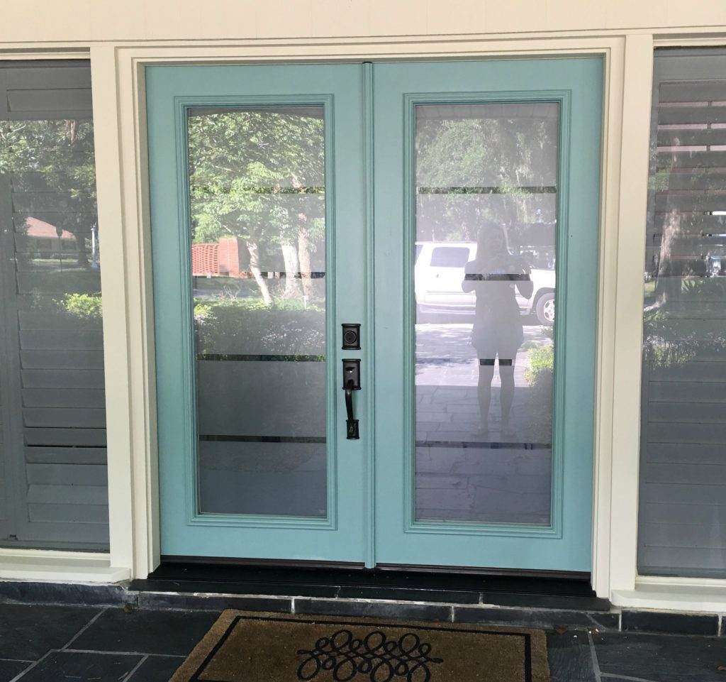 Painting your front door can make a big difference!