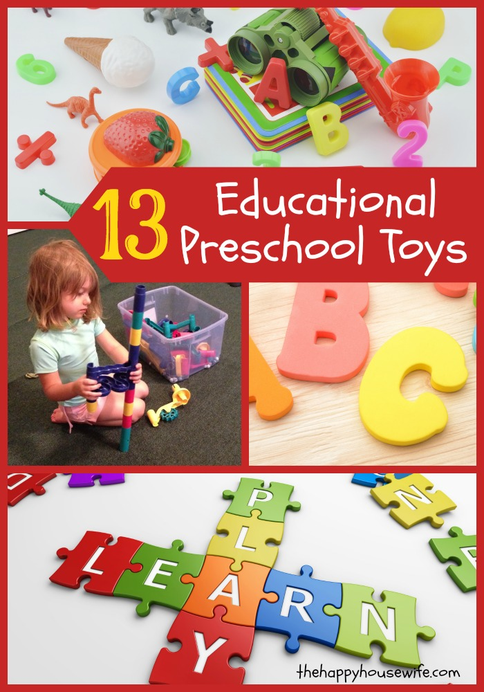 Toys For Kindergarten : Great preschool learning toys the happy housewife
