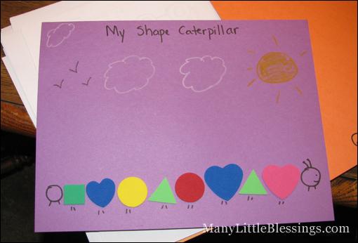 Preschool Activities: Colors And Shapes
