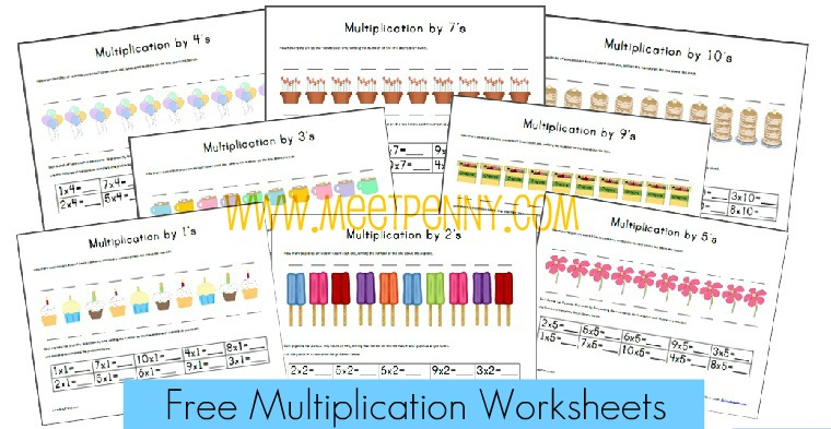 Free Printable Worksheets Multiplication Fact Cards The Happy – Maths Worksheets Free Printable