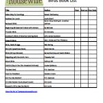 Bird Book List