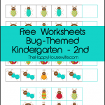 Bug Themed Worksheets