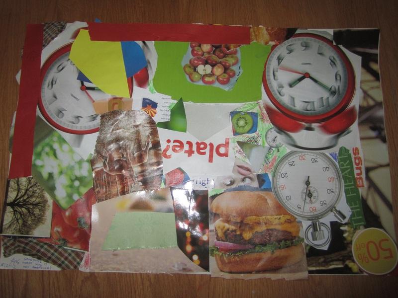 collage of magazine photos