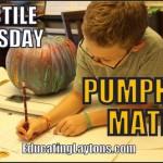 free pumpkin math printable