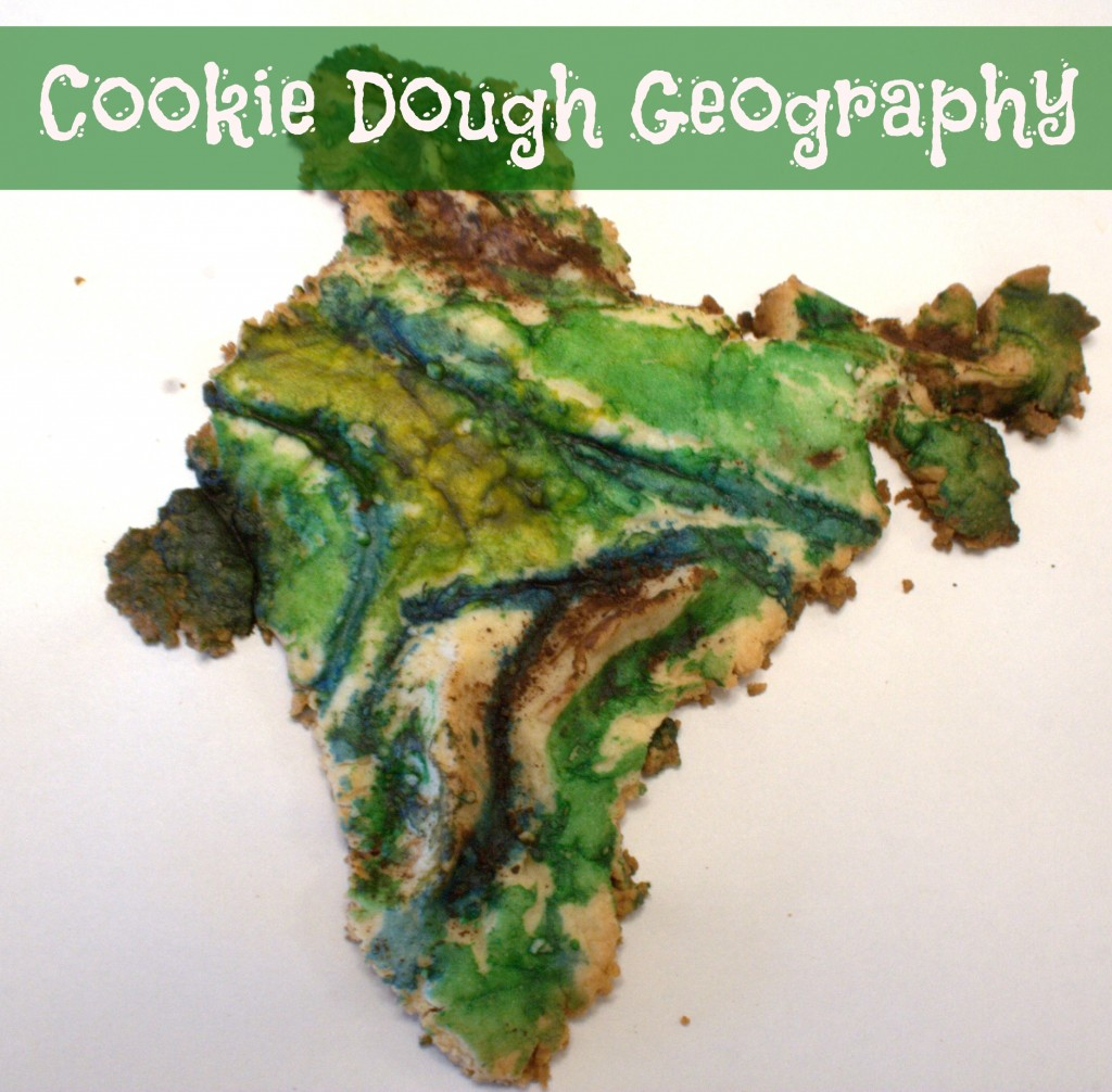 Make an Edible Map With Sugar Cookie Dough