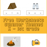 Free Summer Worksheets