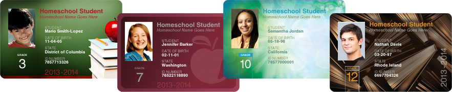 free homeschool id cards