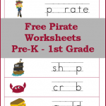 Free Pirate Worksheets