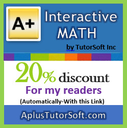 A+ Interactive Math: 20% off Sale + Free Printables