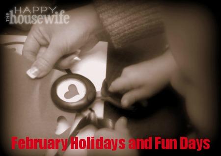 february fun days