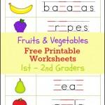 Fruits_Vegetables_Worksheets