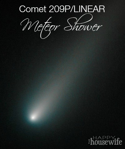 Comet 209P/LINEAR Meteor Shower