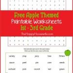 Apples_Worksheets