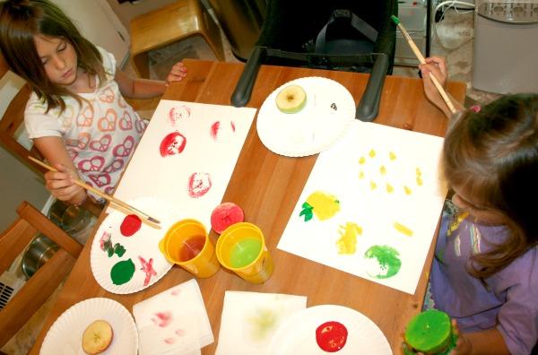 Apple Activities for Preschoolers at The Happy Housewife