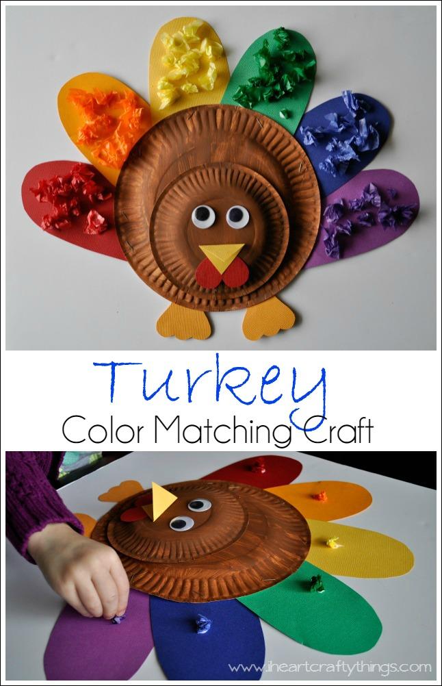 Turkey Color Matching Craft 2