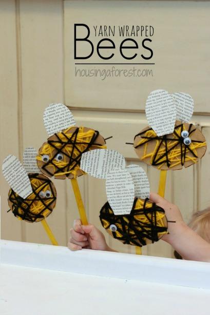 Yarn-Wrapped-Bee-5