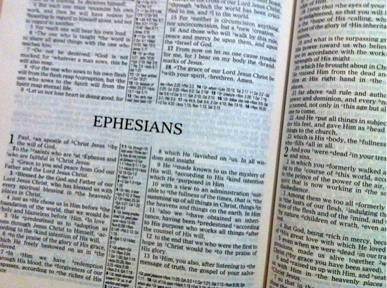 reading through ephesians Reading Through Ephesians