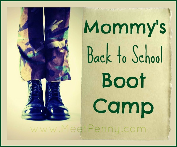 boot camp Mommys Back to School Boot Camp