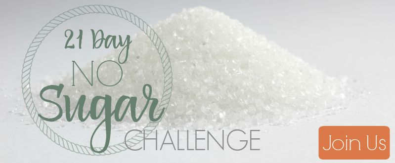 Get motivated to kick the sugar habit for 21 days! We're sharing tips, encouragement, recipes, and checking in daily!