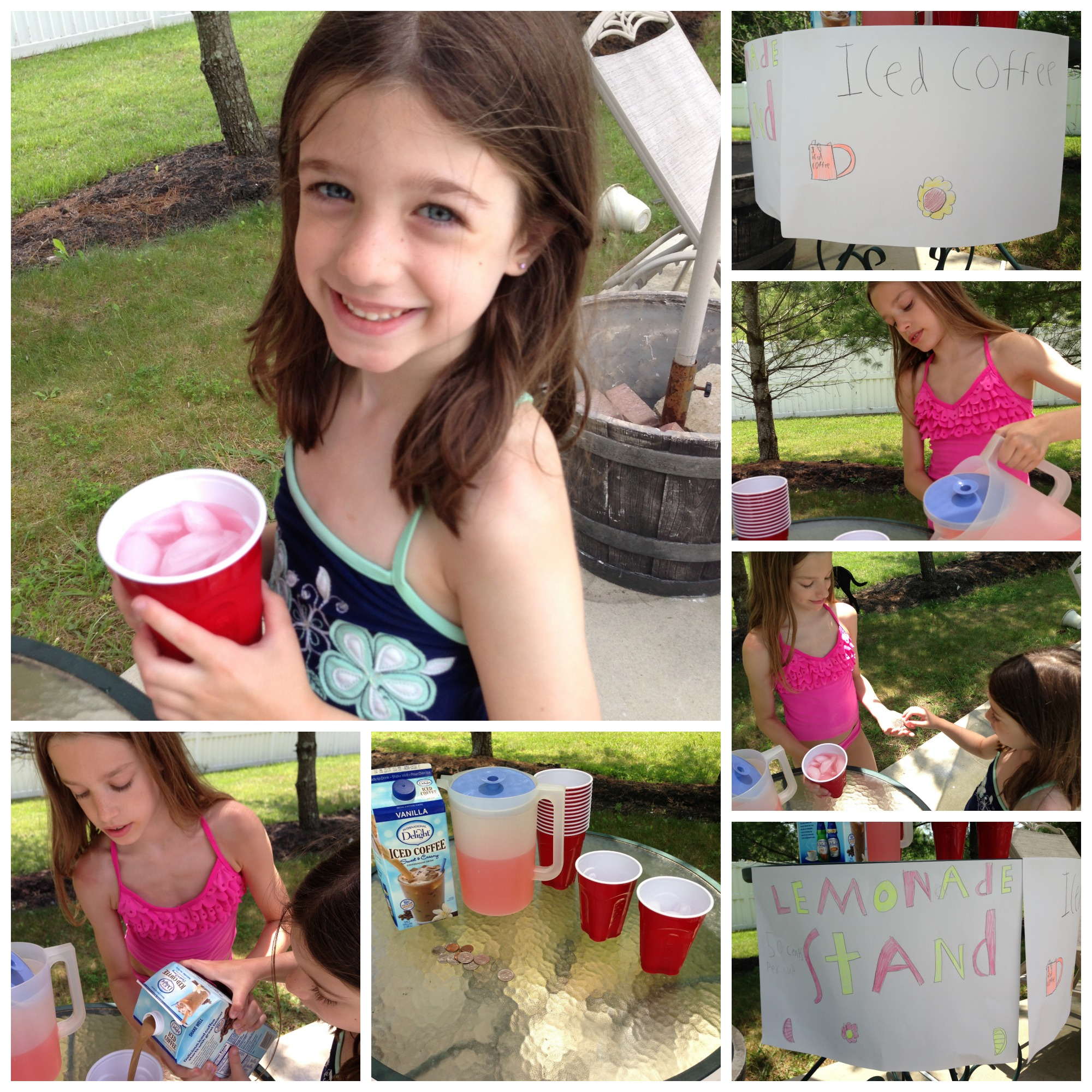 PicMonkey Collage Lemonade & Iced Coffee Stand